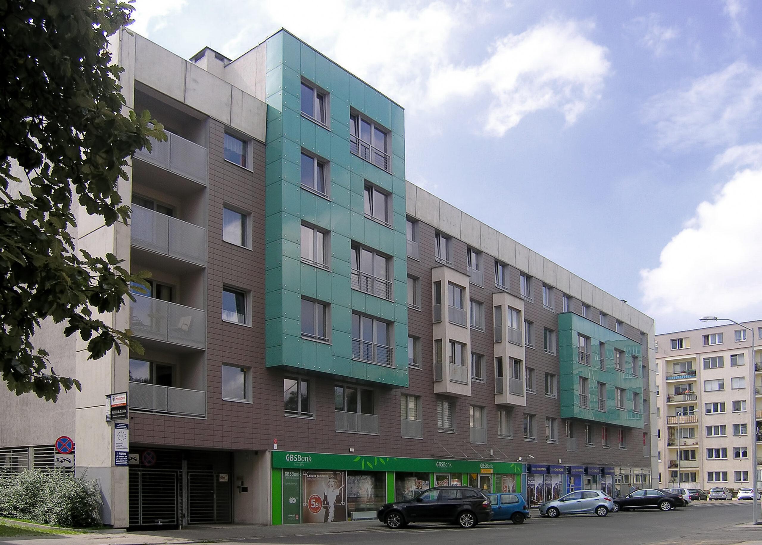 Partyzantów complex, Szczecin