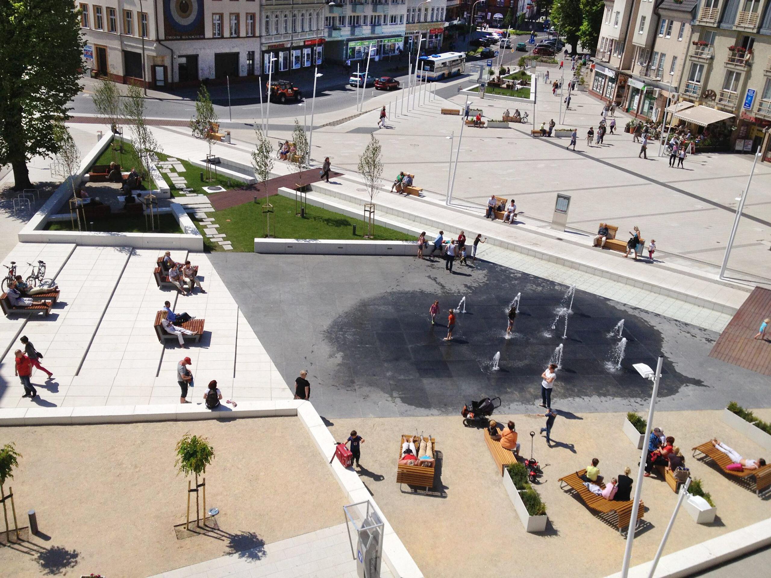 Plac Wolności, Świnoujście