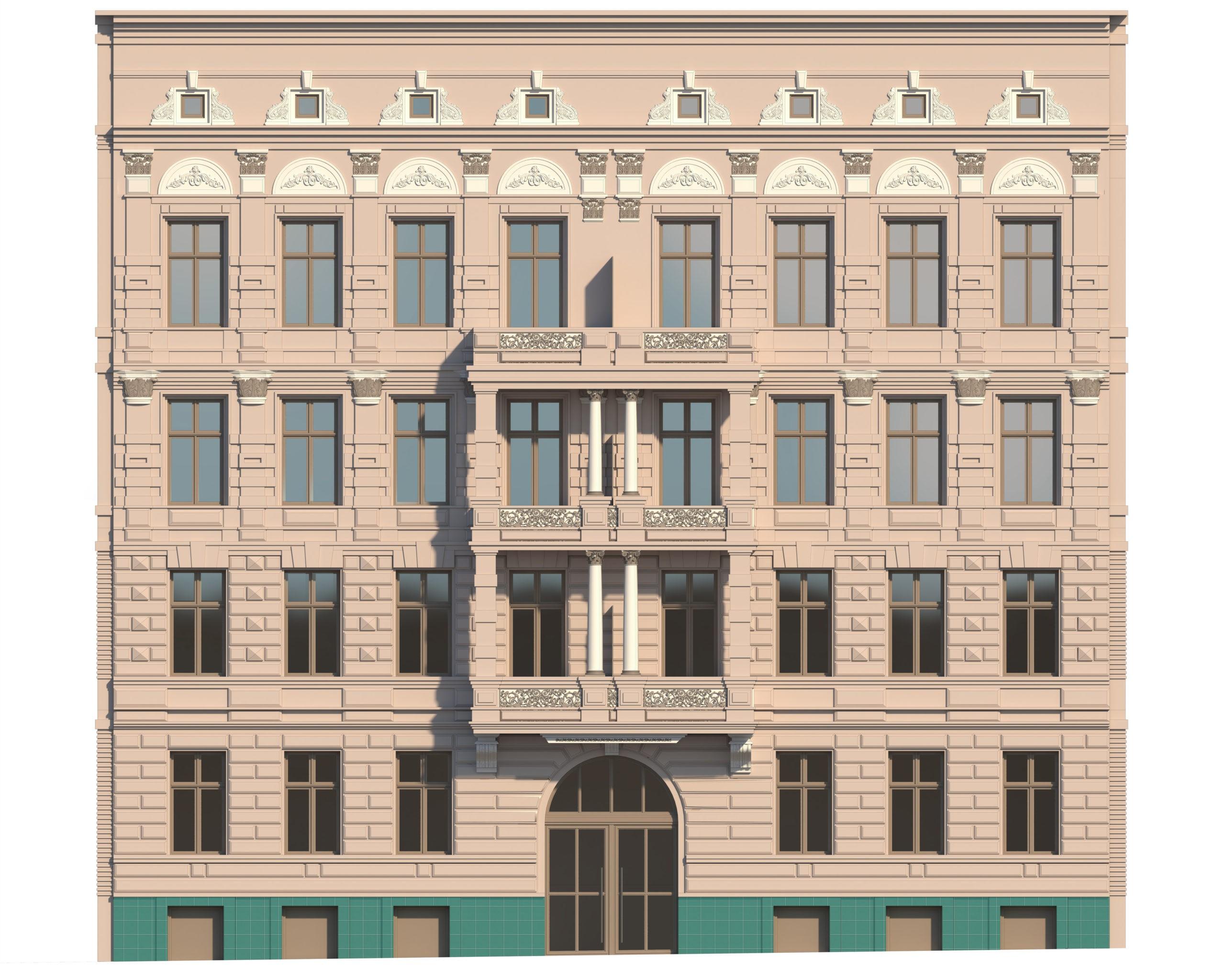 Budynek Malczewskiego, Szczecin