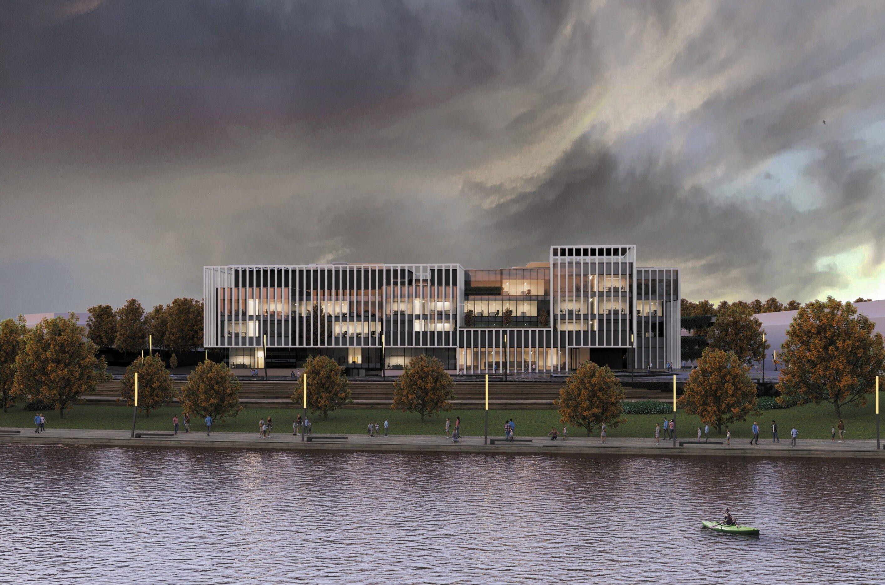 Siedziba urzędu skarbowego oraz urzędu celno-skarbowego w Gorzowie Wielkopolskim