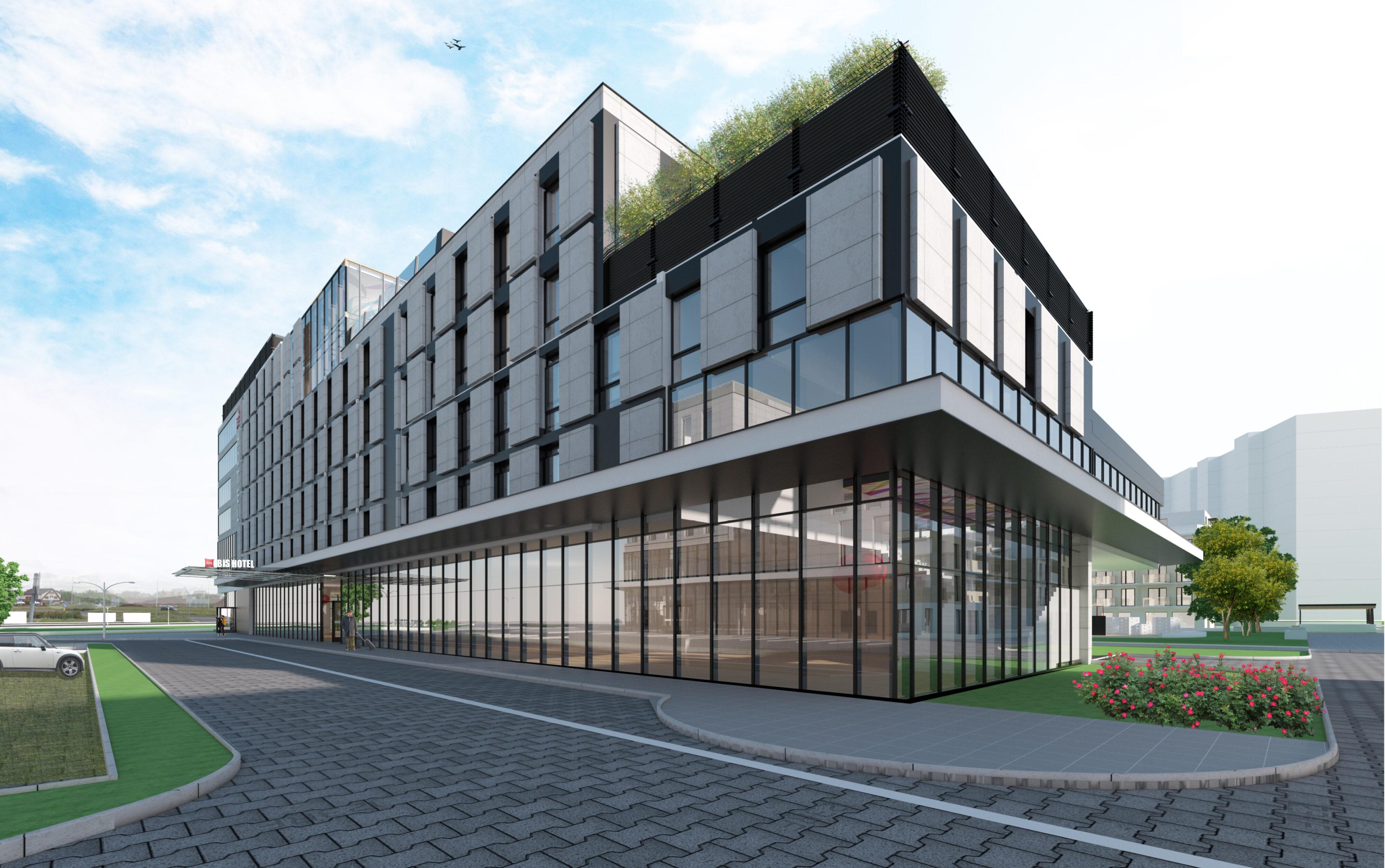 Zespół zabudowy Hotelowej , Biurowej i Mieszkaniowej Reda w szczecinie